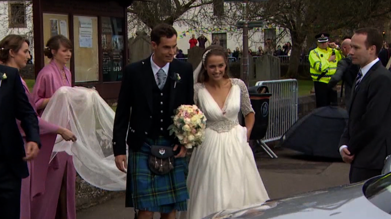 Andy Murray weds