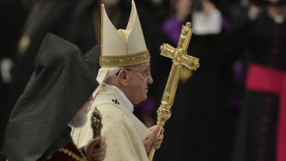 "Pope Francis recently referred to the killings of Armenians as a ""genocide,"" a move that upset Turkey."
