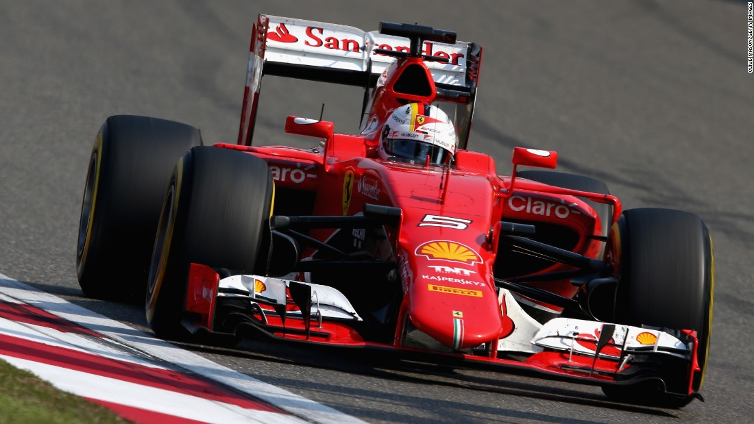 "Vettel's third-placing meant, for the first time in F1 history, <a href=""http://www.formula1.com/content/fom-website/en/latest/features/2015/4/shanghai-stats---hamiltons-full-house.html"" target=""_blank"">the same three drivers have appeared on the podium for the opening three races of a season.  </a>"