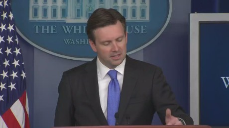 Josh Earnest White House Briefing Obama Hillary Endorsement_00002602.jpg