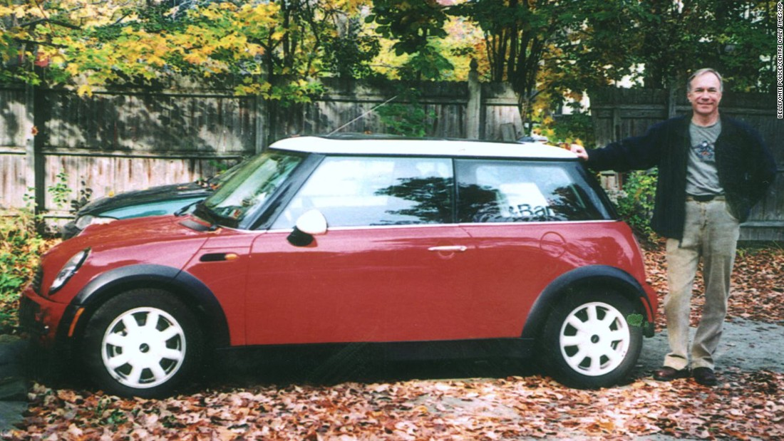 Gricar's red Mini Cooper was found abandoned near a bridge on the Susquehanna River about 55 miles away from his home.