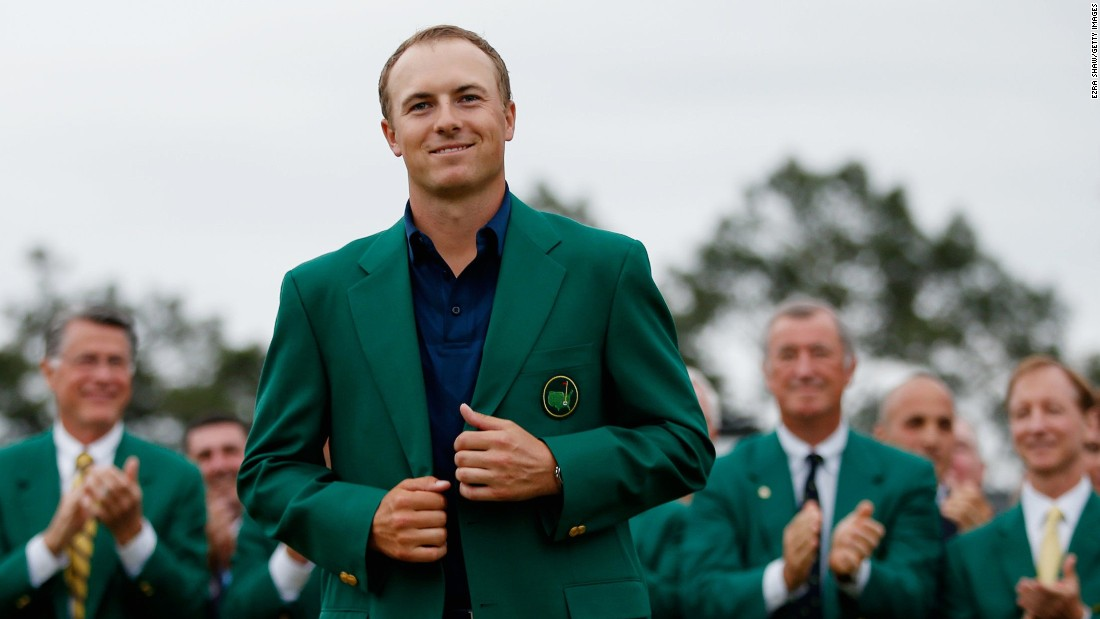 Jordan Spieth is third on the list after his incredible Masters triumph at Augusta. The American finished 18-under par for the tournament, four shots clear of his nearest challenger.