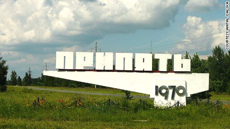It's hot: Chernobyl now a tourist zone