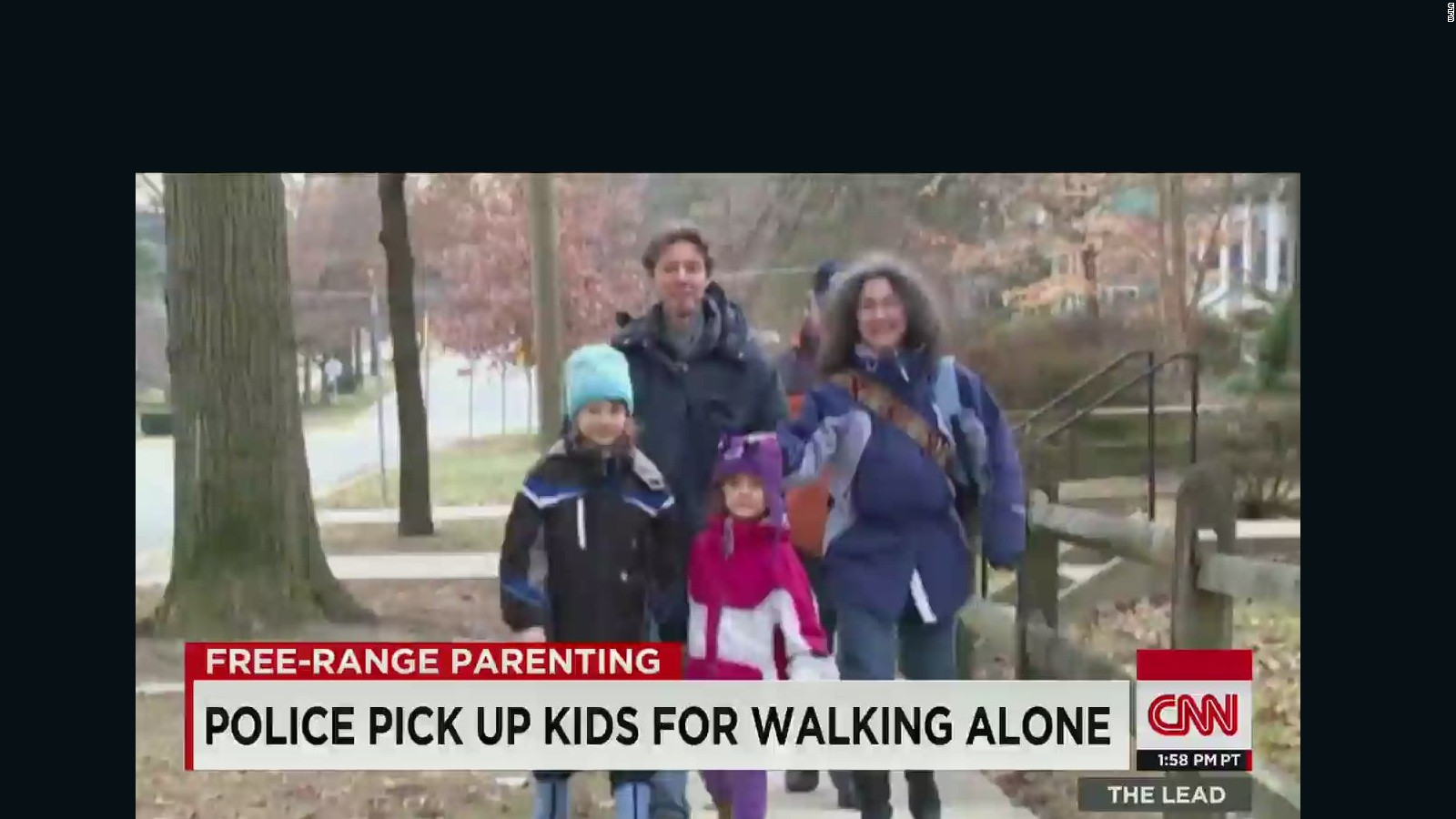 Free Range Parenting Too Often Leads To >> Free Range Parents Face Neglect Investigation Cnn