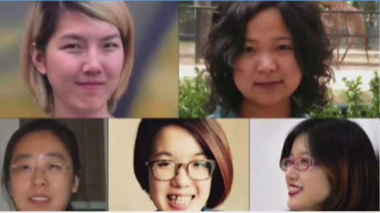 China releases women's rights activists from detention