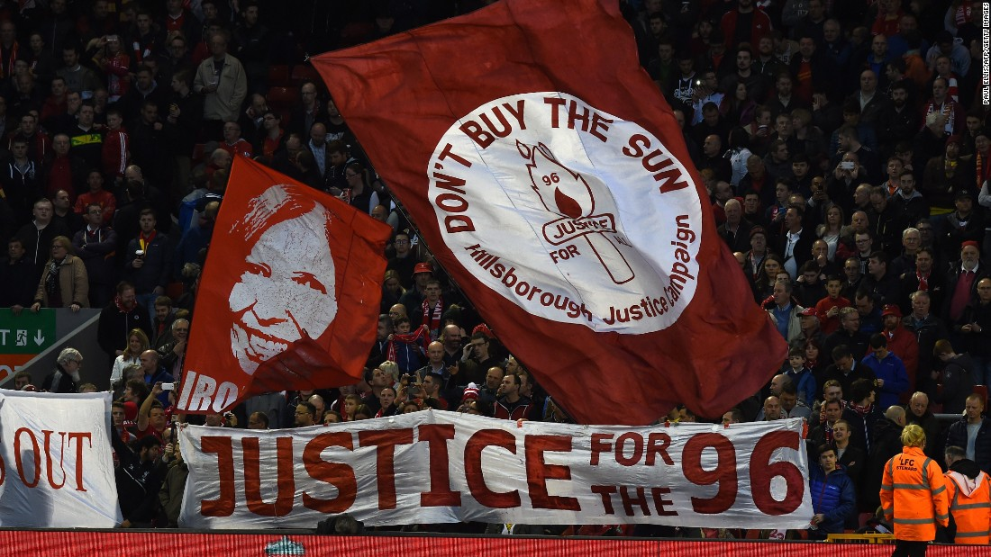 Ninety-six Liverpool fans died on April 15, 1989 during an FA Cup semifinal match. Police officials have finally admitted they were to blame for the deadly crush, having originally accused Liverpool supporters.