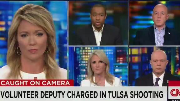 cnn tonight mel robbins harry houck mlh kerik tulsa shooting taser accident _00040903.jpg