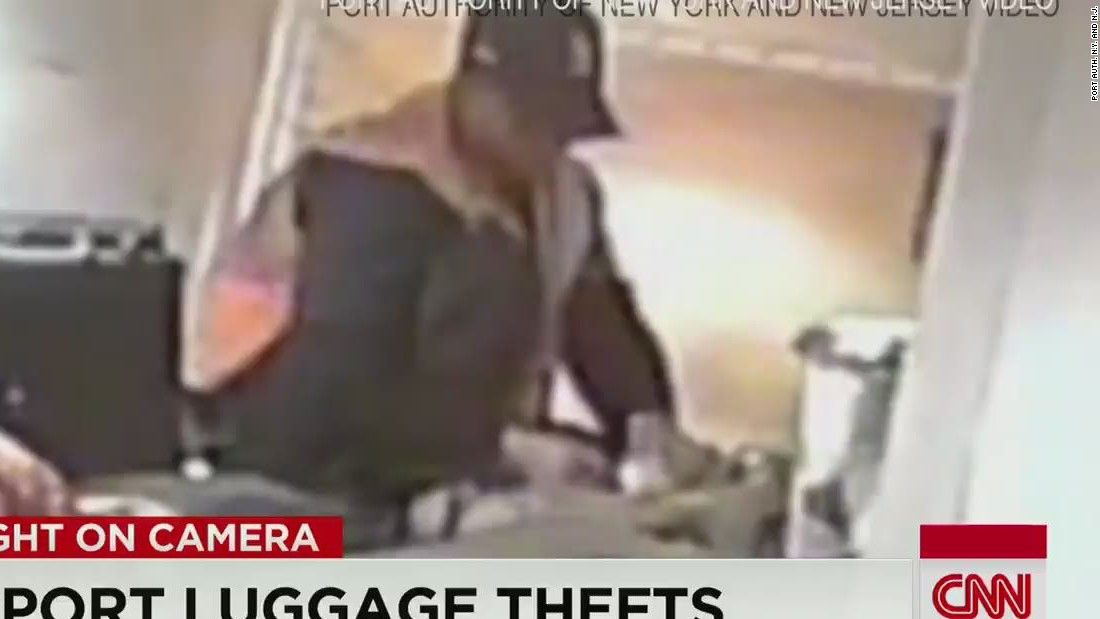Video shows airport workers stealing from luggage - CNN Video