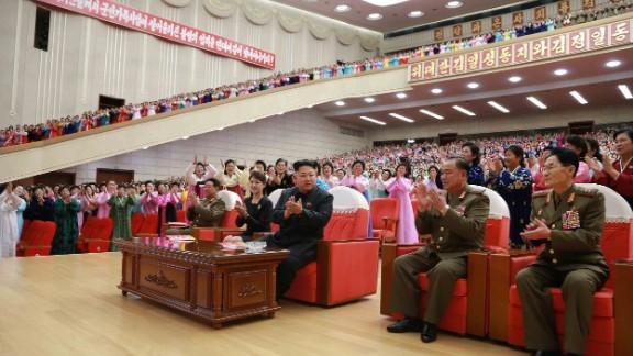 A week earlier, North Korea