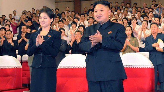 Ri first appeared alongside Kim in an image released in July 2012. They were seen watching a performance of the Moranbong band in Pyongyang. The same month North Korean state television confirmed that Kim and Ri were married, setting off a flurry of speculation about who she was, how long they