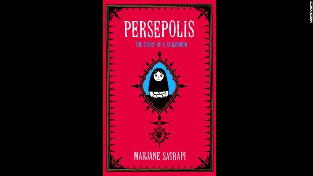 """Persepolis"" is one of three graphic novels featured in the 2014 list. It's an autobiographical account of life in Iran during the Islamic revolution and has been challenged because of gambling, offensive language and its political viewpoint, the library association says."