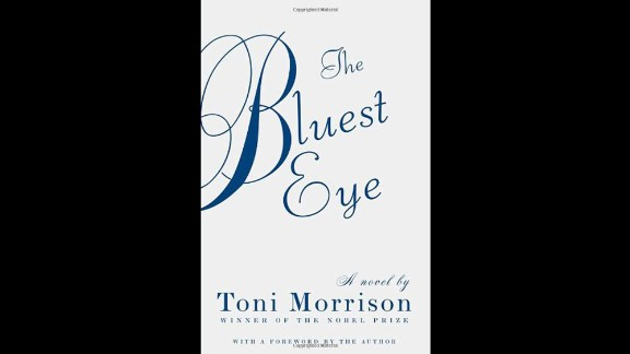 """Toni Morrison's first novel, """"The Bluest Eye,"""" wound up on the list again due to complaints about its depictions of racism, sex and violence. It was published in 1970."""