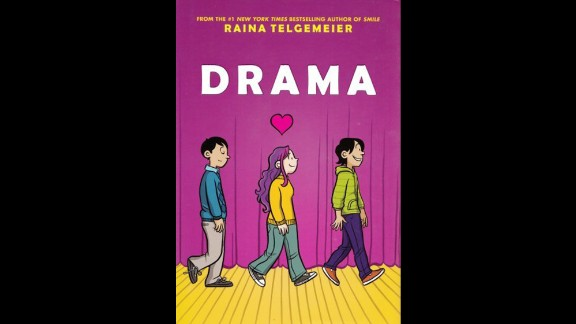 """Another graphic novel, this one set in middle school, """"Drama"""" draws complaints for being sexually explicit."""
