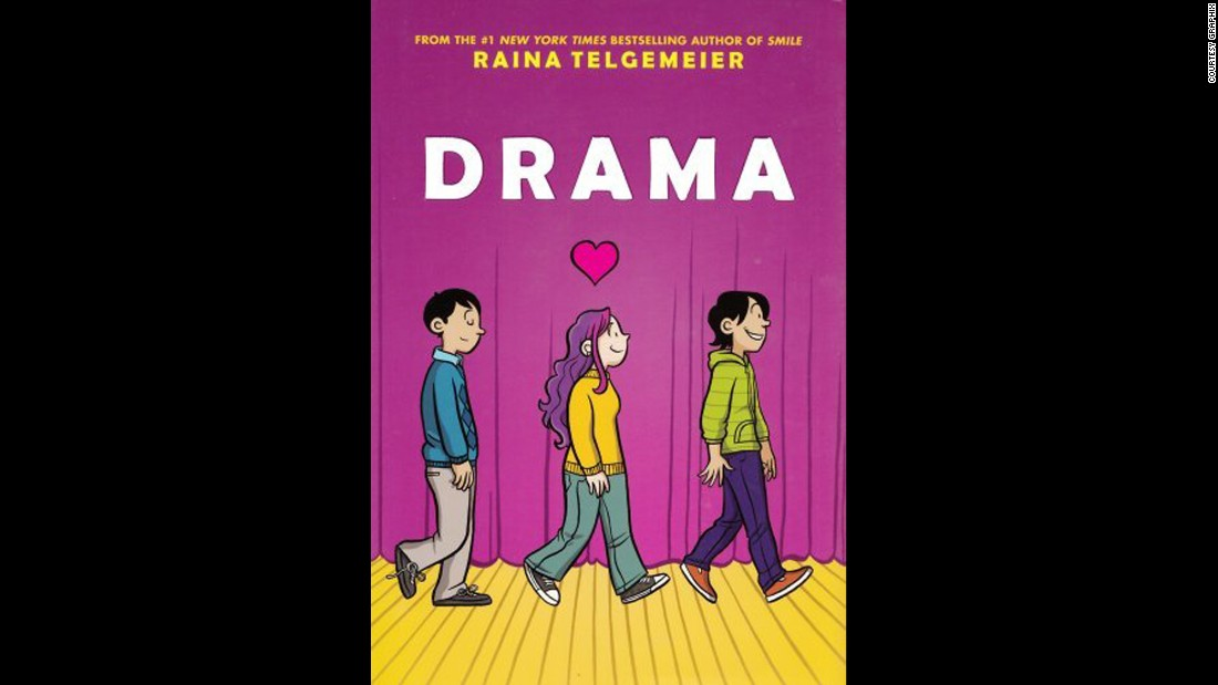 "Another graphic novel, this one set in middle school, ""Drama"" draws complaints for being sexually explicit."