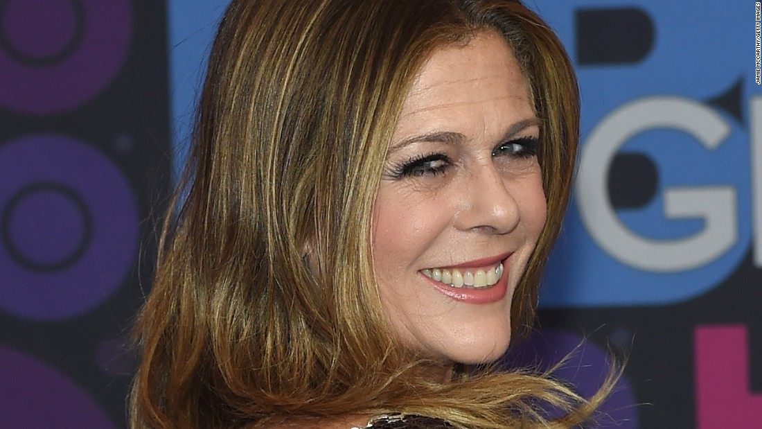 "Actress Rita Wilson, who can be seen on HBO's ""Girls,"" revealed in April 2015 that she was fighting breast cancer and has undergone a double mastectomy. She thanked her family, including husband Tom Hanks, and doctors for their support in a<a href=""http://www.people.com/article/rita-wilson-breast-cancer-double-mastectomy-reconstruction"" target=""_blank""> statement to People magazine</a>."