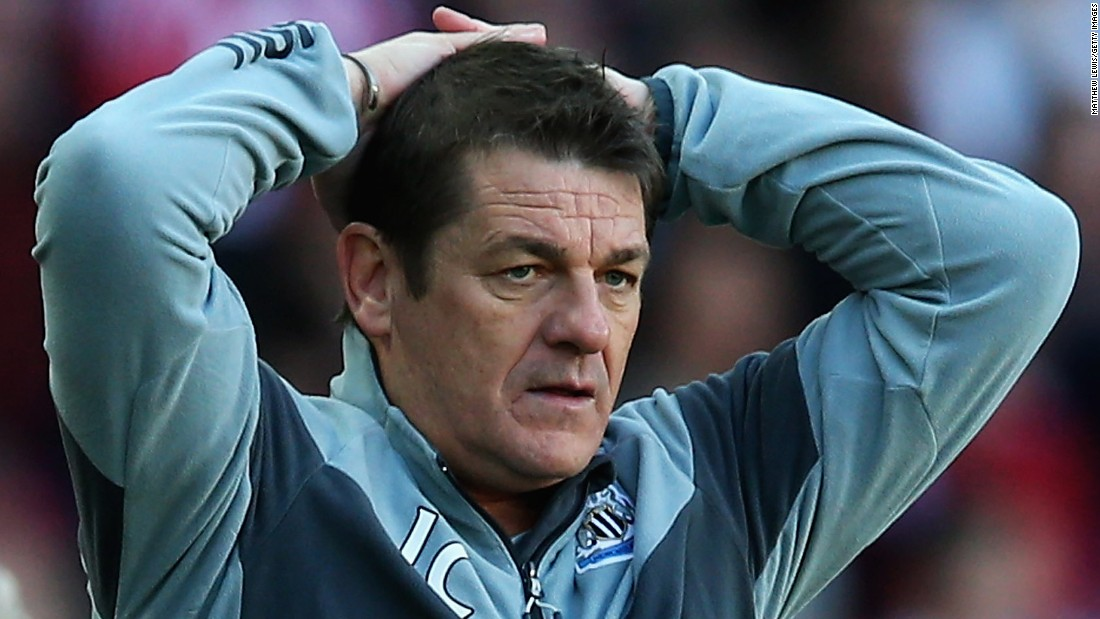 John Carver, 50, took over but he won just three of his 20 games in charge.