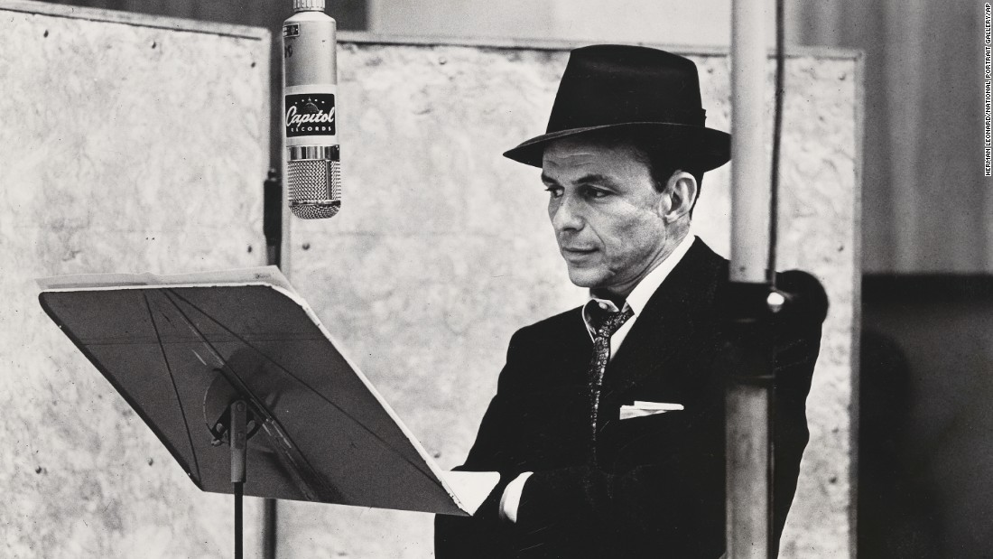 "<strong>All kinds of music. </strong>Mozart's ""Don Giovanni"" and Beethoven's 9th Symphony, Frank Sinatra (shown here in 1956) or Ella Fitzgerald doing the great American songbook inspire him. ""I also love the first New York Dolls album to be played at near-maximum volume!"" says Potkay."