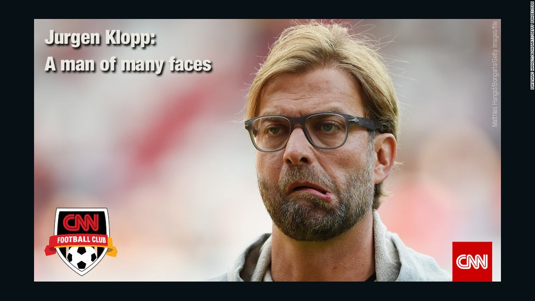 Jurgen Klopp ended his seven year stay at Borussia Dortmund earlier in the year to take time away from the sport. He has since become soccer's most wanted man and he has emerged as first choice for the vacant Liverpool job. The Anfield club sacked Brendan Rodgers on Sunday after winning only four out of 11 games this season. <br /><br />Never shy in expressing himself, we explore the many faces of this charismatic coach.