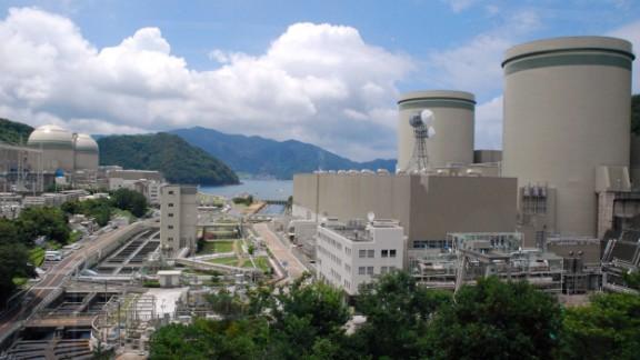 Kansai Electric Power Company's Takahama nuclear plant in western Japan.