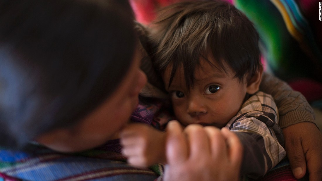 Chronic malnutrition is most prevalent in indigenous Mayan communities, affecting at least seven out of every 10 children.