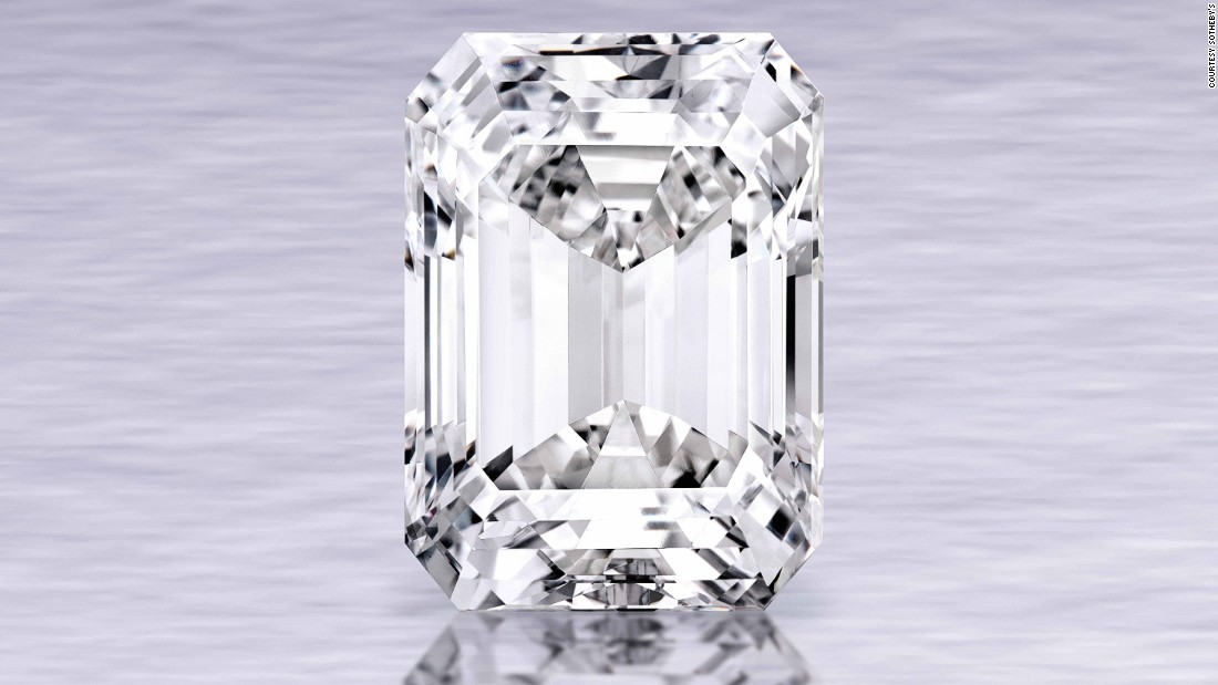 1386cf3ee823d Sotheby's 'perfect' 100-carat diamond sells for $22M - CNN
