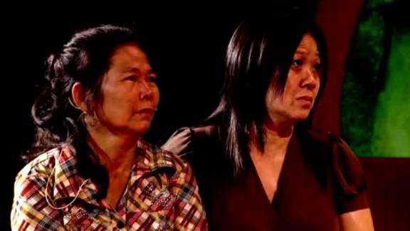 Ly Sivhong beside her long-lost sister, Bo.