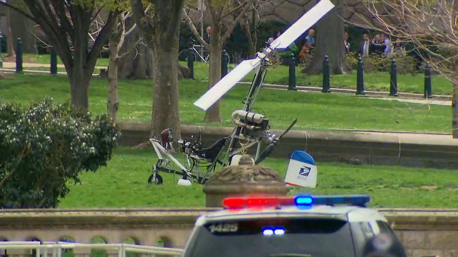 Small aircraft landing sparks Capitol security scramble