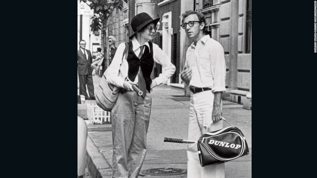 "It might not be the most practical sports attire, but that didn't stop a generation swooning over Diane Keaton's cute-as-a-button waistcoat and tie ensemble in Woody Allen's 1977 film ""Annie Hall."" <br />The image features in the book,<a href=""http://www.teneues.com/shop-int/the-stylish-life-tennis2.html"" target=""_blank""> ""The Stylish Life: Tennis,""</a> published by teNeues, courtesy Hulton-Deutsch Collection/CORBIS."