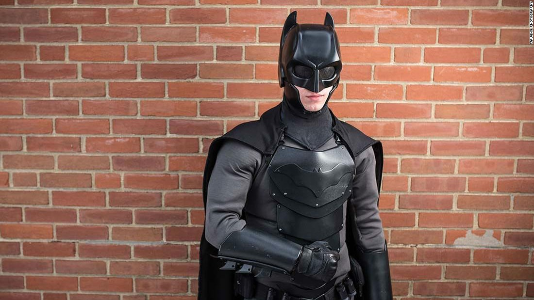 This Student S Created A Batman Outfit And It Works Cnn