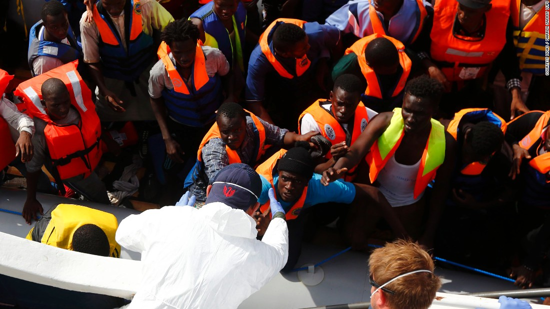 """We are just one boat. The EU must launch a credible search and rescue operation to avoid this situation,"" said Regina."