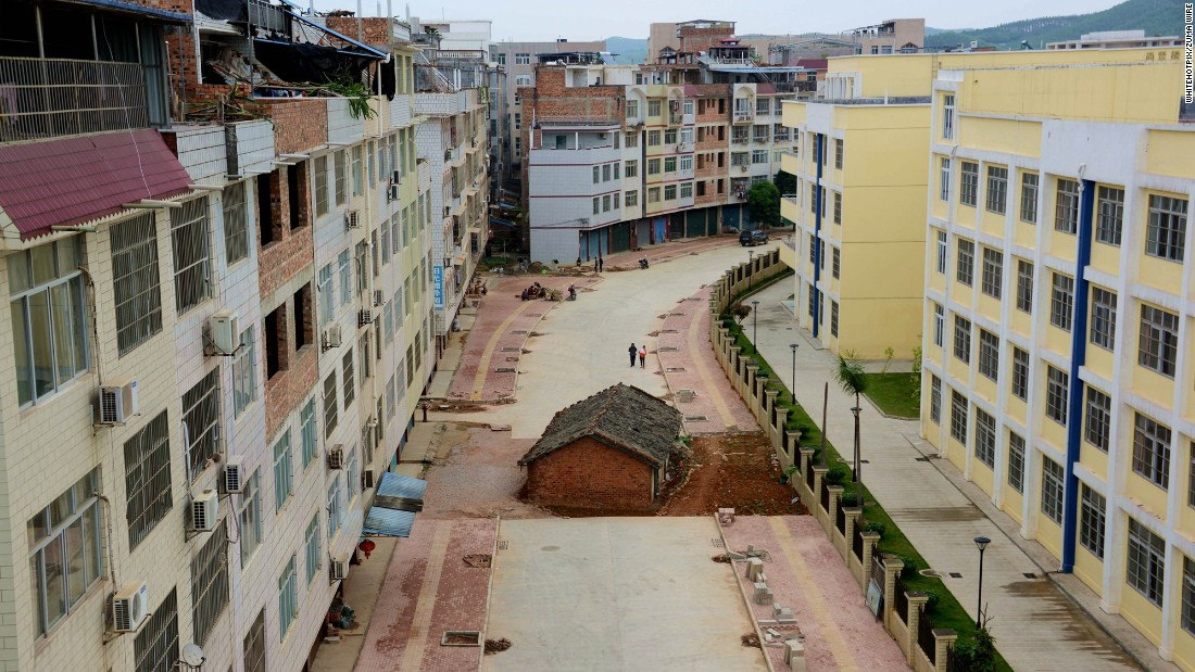 China's 'nail houses': The homeowners who refused to budge