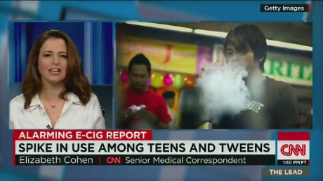 E-cigarette, hookah use triples among teens in one year