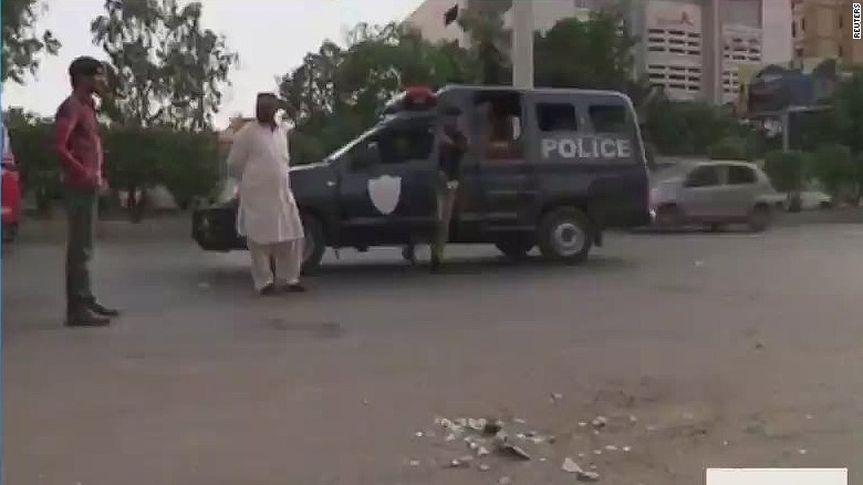 American woman in Pakistan shot