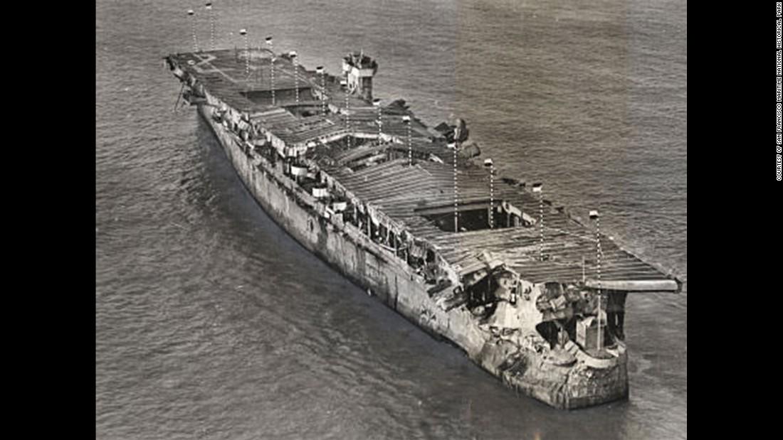 Aircraft Carrier That Survived Atomic Blasts Surveyed Cnn