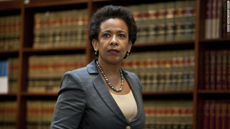 Loretta Lynch brings some credibility to Baltimore