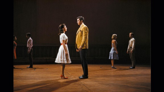"""Natalie Wood and Richard Beymer in 1961's """"West Side Story"""""""