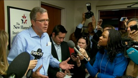 Jeb: Brother's foreign policy not particularly relevant