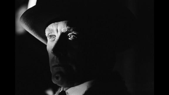"""Kirk Douglas plays Sen. William J. Tadlock in """"The Way West"""" in 1967."""