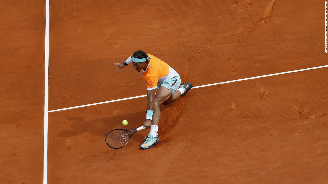 Nadal had won the pair's last meeting in the final of the 2014 French Open.