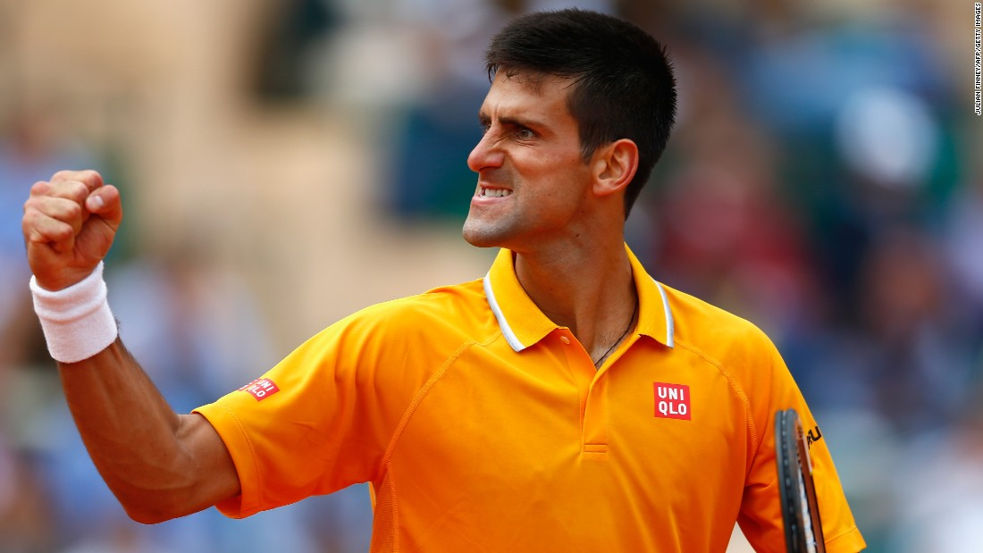 Although Nadal broke the Serb in the first game, Djokovic would hit back soon after and go on to win the match 6-3 6-3.