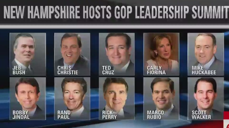 GOP presidential hopefuls flood New Hampshire