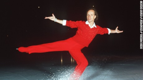 UNDATED:  SCOTT HAMILTON, FIGURE SKATER FOR THE USA. Mandatory Credit: Mike Powell/ALLSPORT