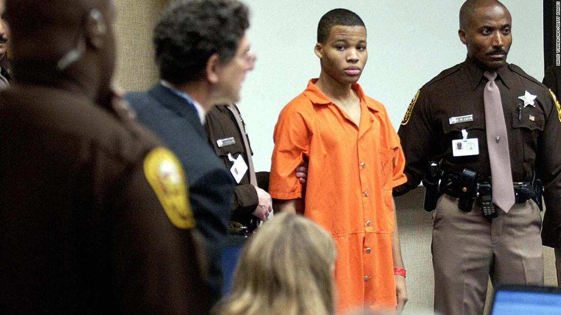 Supreme Court dismisses DC sniper's case