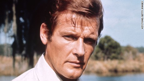 1973:  English film and television actor Roger Moore on location for the filming of the James Bond 007 movie 'Live and Let Die'.  (Photo by Keystone/Getty Images)