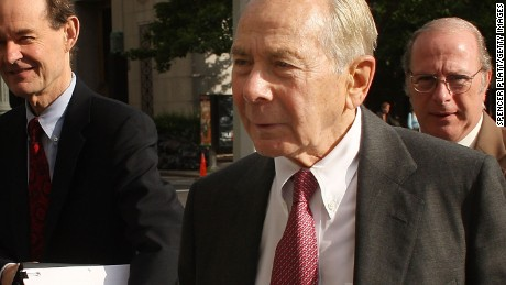 "NEW YORK - JUNE 17:  Former CEO of insurance company AIG Maurice ""Hank"" Greenberg arrives at U.S. District Court in Manhattan on June 17, 2009 in New York City. Greenberg has been accused by the insurance giant of plundering an AIG retirement program composed of $4.3 billion in stock in 2005 through Starr International, a company that he controls.  (Photo by Spencer Platt/Getty Images) *** Local Caption *** Maurice ""Hank"" Greenberg"