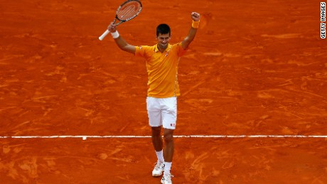 Novak Djokovic continued his fantastic form in 2015 with victory in Monte Carlo.