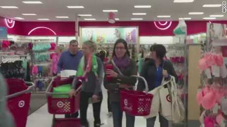 0aa86bdb77 Lilly Pulitzer causes shopping frenzy at Target - CNN Video
