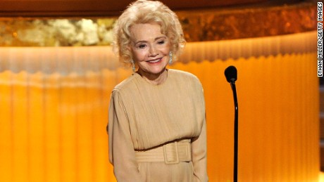LAS VEGAS - JUNE 27: Actress Agnes Nixon speaks onstage at the 37th Annual Daytime Entertainment Emmy Awards held at the Las Vegas Hilton on June 27, 2010 in Las Vegas, Nevada.  (Photo by Ethan Miller/Getty Images) *** Local Caption *** Agnes Nixon