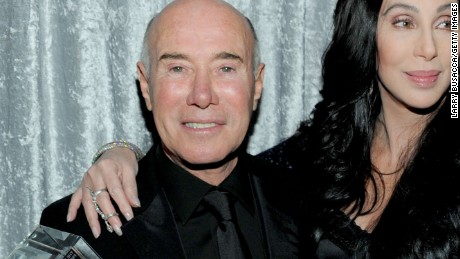 BEVERLY HILLS, CA - FEBRUARY 12:  (L-R)  Honoree David Geffen, Singer Cher and Recording Academy President Neil Portnow attend the 2011 Pre-GRAMMY Gala and Salute To Industry Icons Honoring David Geffen at Beverly Hilton on February 12, 2011 in Beverly Hills, California.  (Photo by Larry Busacca/Getty Images) *** Local Caption *** David Geffen;Cher;Neil Portnow