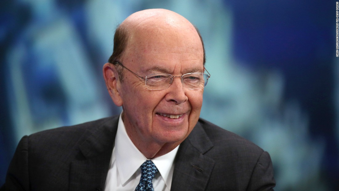 Image result for Wilbur Ross, photos